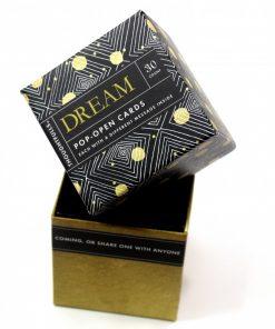 Pop open kaartjes Dream
