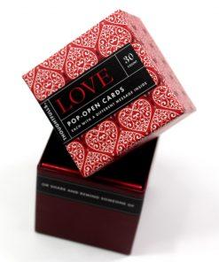 Pop open kaartjes Love