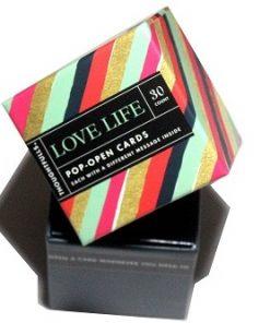 Pop open kaartjes Love life