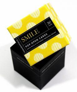 Pop open kaartjes Smile
