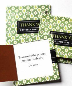 Pop open kaartjes Thank you