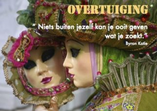 Overtuiging; Foto: Mirror reflection van Maryse Algoet