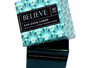 Pop open kaartjes BELIEVE