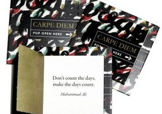 Pope opne kaartjes CARPE DIEM