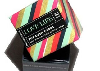Pop open kaartjes LOVE LIFE