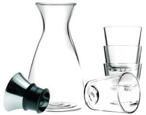 Set met karaf en vier glazen van Eva Solo