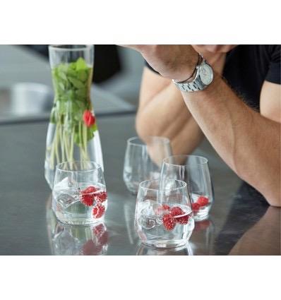 Set met karaf en vier glazen van Bitz