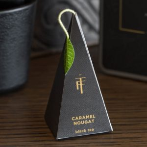 Noir van Tea Forté luxe medium presentatiedoos