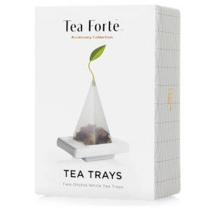 Set thee onderzetters van Tea Forté