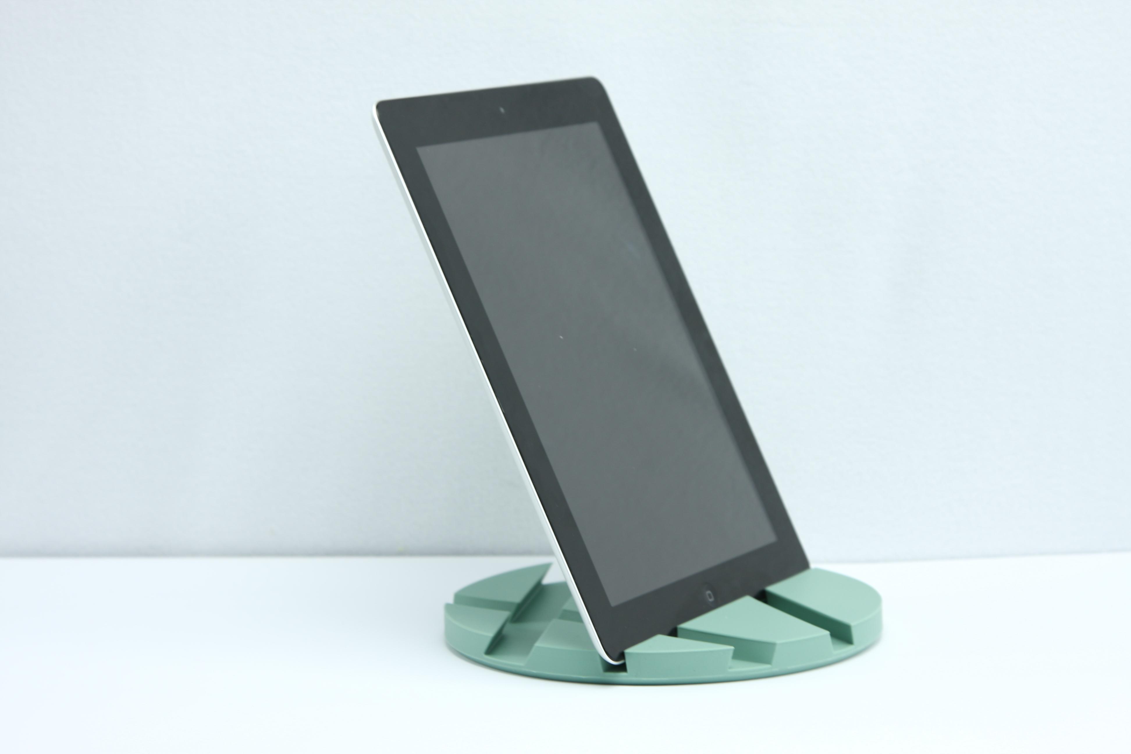 smartmat van eva solo graniet groen ipad houder en onderzetter in een. Black Bedroom Furniture Sets. Home Design Ideas