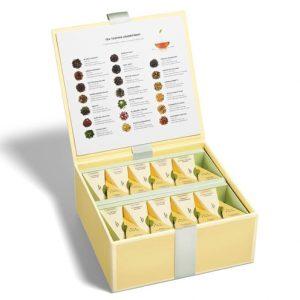 Tea tasting assortiment groot van Tea Forté in luxe Presentatie doos