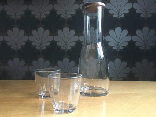 Bruk drinkglazen set van 2 transparant