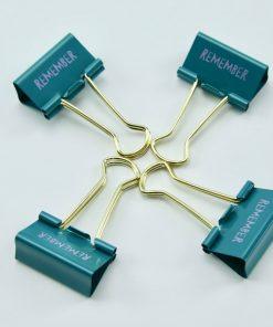Bindklemmen groot Timemanagement Remember (6 stuks)