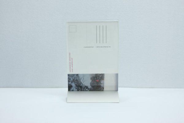 Fotodisplay aluminium voet A5