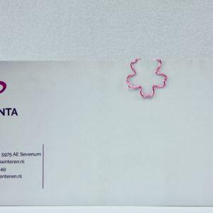 Grote metalen paperclip Sakura