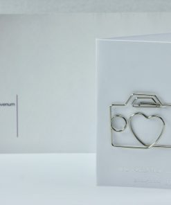 Grote metalen paperclip/boekenlegger Koffer