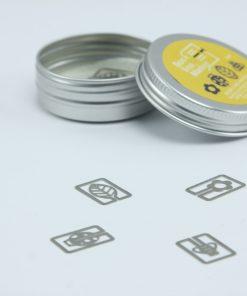 Metalen bookmark/paperclip Natuurlijk