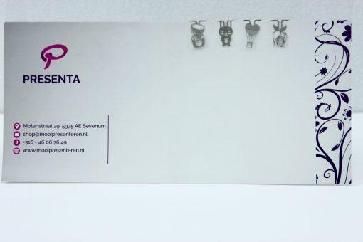 Metalen bookmark/paperclip Voor jou