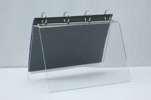 Tafel flip-over A4 transparant