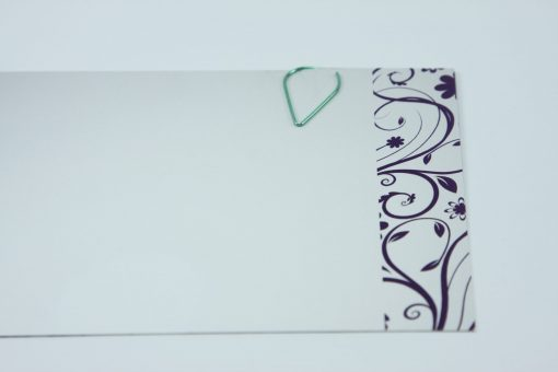 Waterdruppel paperclip in metallic groen (50 stuks)