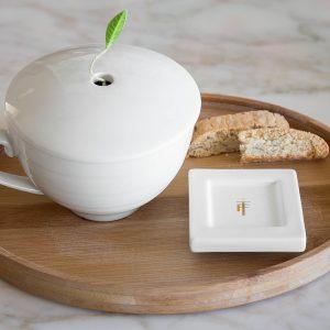 Theekop met deksel van Tea Forté