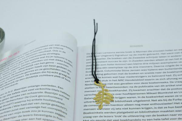 Elegante boekenlegger Olijf tak