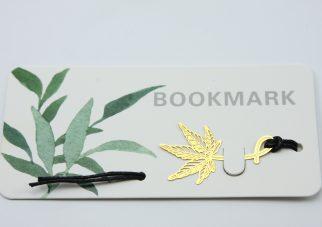 Paperclips met fleurig vlinder dessin (6 stuks)