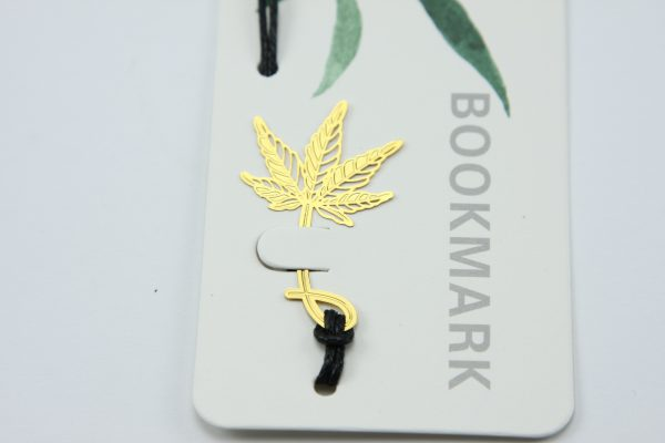 Elegante boekenlegger Esdoorn blad