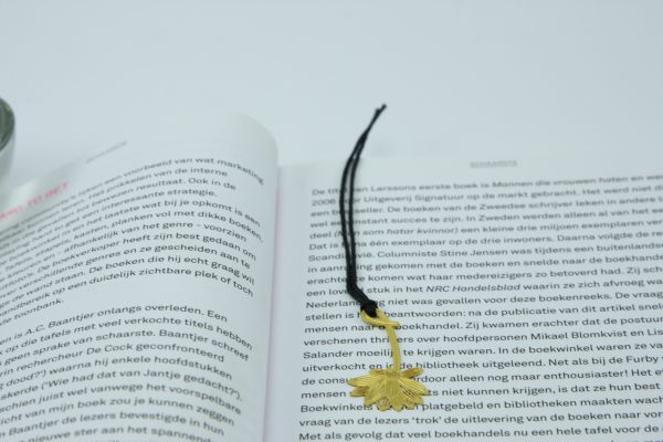 Elegante boekenlegger Lotus bloem