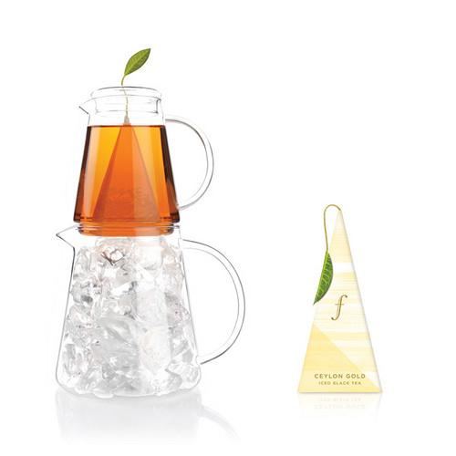 Organic Ceylon gold ijsthee van Tea Forté voor Thee over ijs