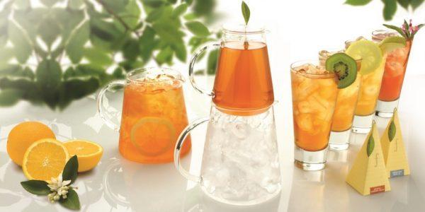 Thee over ijs Complete kannen set met ijsthee van Tea Forté