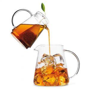 Raspberry nectar ijsthee van Tea Forté voor Thee over ijs