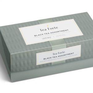 Zwarte thee tasting assortiment van Tea Forté in luxe doos medium