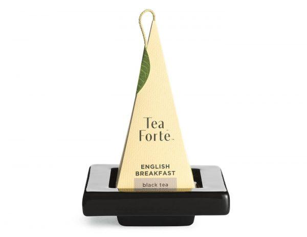 Set thee onderzetters zwart van Tea Forté