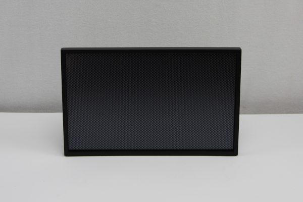 Rechthoekig presentatie en dienblad zwart