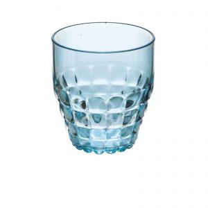 Tiffany drinkglas van Guzzini blauw