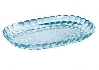 Tiffany serveerschaal M van Guzzini blauw