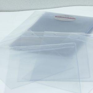 Transparante insteekhoezen A6 staand (25 stuks)