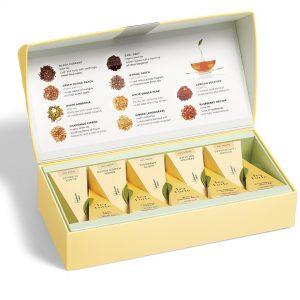 Tea tasting assortiment klein van Tea Forté in luxe Presentatie doos