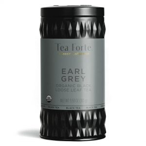 Earl grey Losse thee blaadjes in elegante theebus