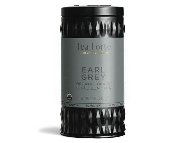 Earl grey Losse thee blaadjes in elegante theebus