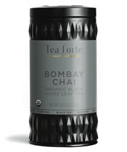 Bombay Chai Losse thee blaadjes in elegante theebus