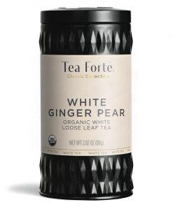 Jardin Kati thee mok plus theebus White ginger pear met losse thee van Tea Forté