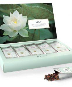 Single steeps losse thee Lotus (portie verpakking)