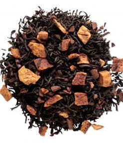 Sweet orange spice Losse thee blaadjes in elegante theebus