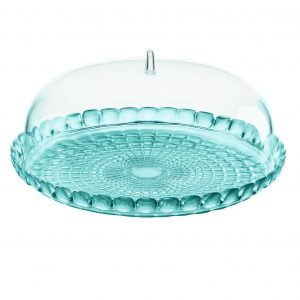 Guzzini Tiffany stolp set blauw: voor taart, cake of snacks