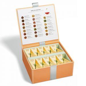 Kruidenthee assortiment groot van Tea Forté in luxe Presentatie doos