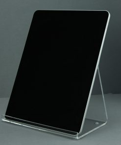 Ipad (pro) en tablet standaard van transparant plexiglas