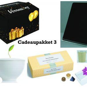 cadeaupakket 3 voor sinterklaas, kerst, verjaardag