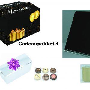 cadeaupakket 4 voor sinterklaas, kerst, verjaardag